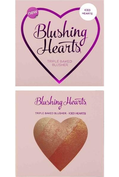I Heart Revolution Blushing Hearts Allık Iced Hearts 5 gr
