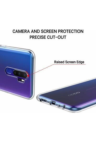 Quse Oppo A5 2020 Premium Silikon Kılıf - Şeffaf