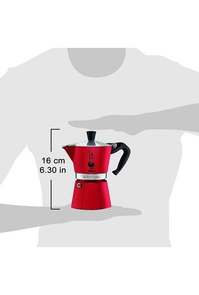 Bialetti Moka Pot Express 3 Cup Kımızı