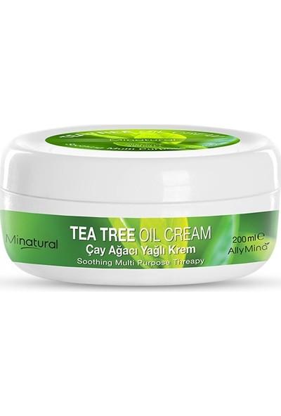 Allymina Minatural Çay Ağacı Yağlı Krem 200 ml