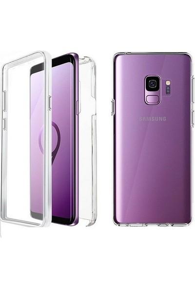 Kılıfreyonum Samsung Galaxy S9 Ön Arka Şeffaf 360 Derece Tam Korumalı Kılıf