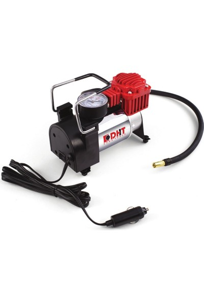 Dht 12 Volt Mini Hava Kompresörü Tek Silindirli