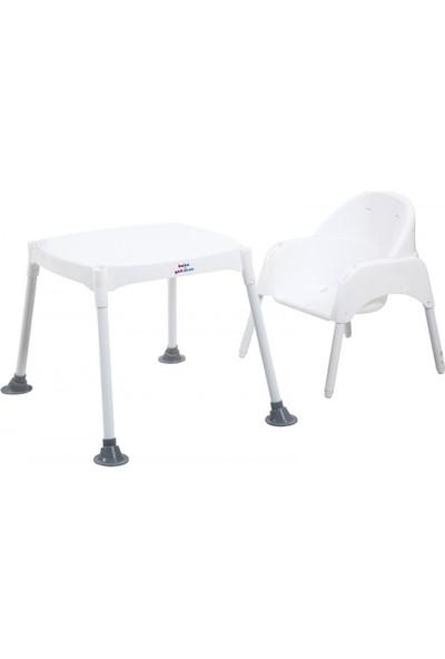 Bebeyatmaz 3in1 Mama Sandalyesi Gri