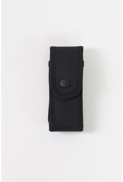 Moda Canel Güvenlik Kumaş Şarjör Kılıfı Siyah