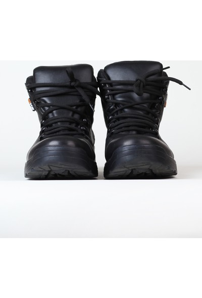 Moda Canel Yarım Bot Outdoor Siyah