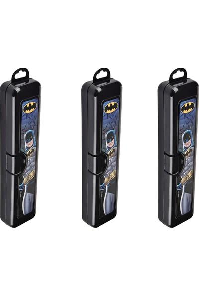 Tuffex Batman Hobi ve Diş Fırçası Kutusu 3'lü Set