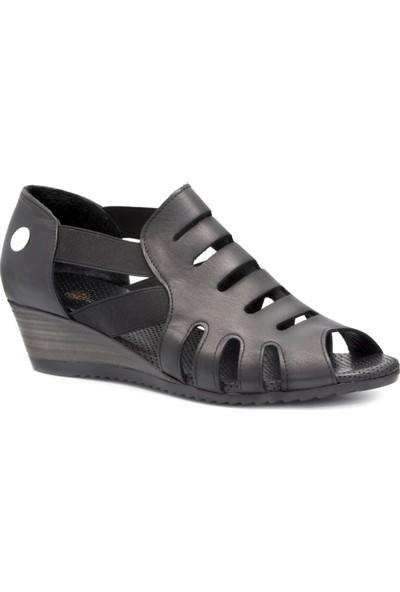Mammamia D20Ya 945 Siyah Terlik Sandalet