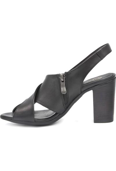 Mammamia D20Ys 1050 Siyah Terlik Sandalet