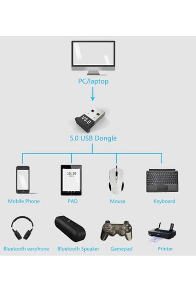 Coverzone Mini v5.0 USB Bluetooth Dongle 5.0 Bluetooth Adaptör
