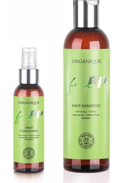 Organique Organique Feel Up Normal ve Yağlı Saçlar Için Saç Bakım Seti