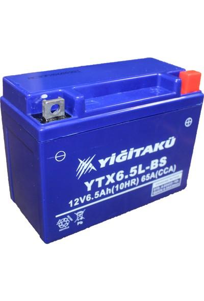 Yiğit Akü Motorsikler Aküsü 12 V 6.5 Ah Ytx6.5