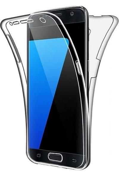 Kılıfreyonum Samsung Galaxy S7 Ön Arka Şeffaf 360 Derece Tam Korumalı Kılıf