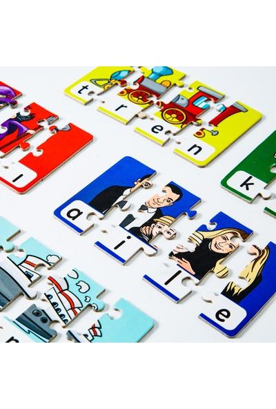 Miniq Toys 4 Harfli Kelimeler Puzzle - 80 Parça