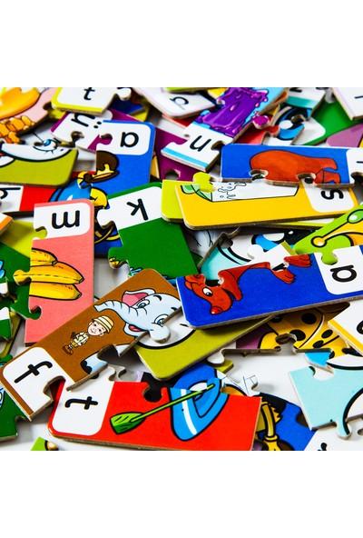 Miniq Toys 3 Harfli Kelimeler Puzzle - 60 Parça