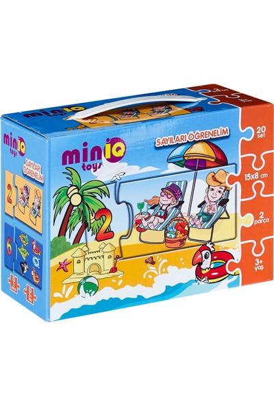 Miniq Toys Sayıları Öğrenelim Puzzle - 40 Parça