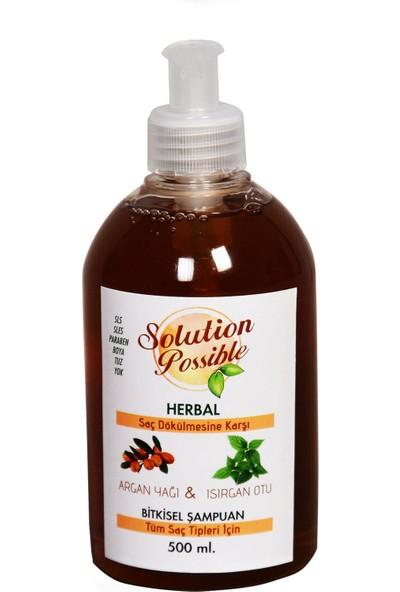 Solution Possible Argan Yağı ve Isırgan Otu Özlü Şampuan 500 ml
