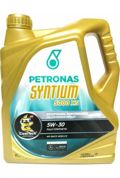 Petronas Syntium 5W-30 5000 XS 4L Partiküllü Motor Yağı (Mercedes-BMW-Volkswagen-Opel Onaylı)