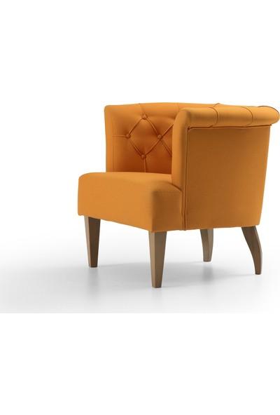 Ndesign Wooden Sarı Berjer