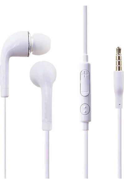 Cree Kulakiçi Mikrofonlu Kulaklık - Beyaz