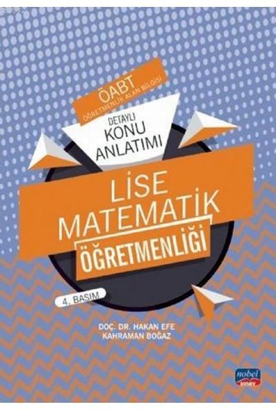 Nobel Sınav Yayınları Öabt Lise Matematik Öğretmenliği - Detaylı Konu Anlatımı