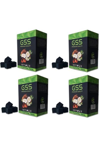 GSS Nargile Kömürü 4kg (4x1 kg)