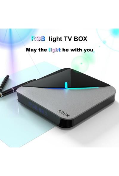 A95X F3 Tv Box Android 9.0 Amlogic S905X3 4gb Ram 64 GB Rom 8k Akıllı Tv Kutusu