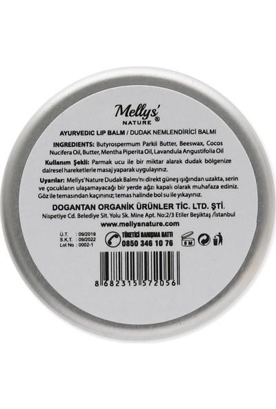 Mellys' Nature %100 Doğal Ayurvedik Dudak Balmı (Ayurvedic Lip Balm)