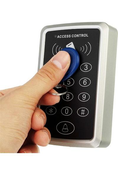 Sonex RFID Okuyucu Şifreli Geçiş Kapı Göstergeç Sistemi 50 Proximity Kart ve 50 Manyetik Anahtarlık