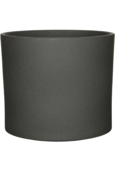 Kutukutucicek Mica Siyah Seramik Saksı 10 x 9 cm