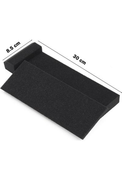 Midex Pad-5X 5'' için Stüdyo Referans Monitör İzolasyon Pad Tek (30x8.5x4 cm)
