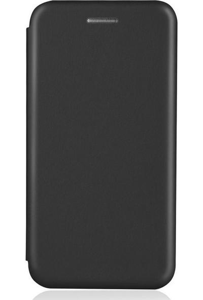 Smody Apple iPhone 11 Standlı Lüx Mıknatıs Kapaklı Kılıf + Ekran Koruyucu Siyah