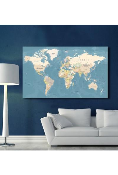 As Tablo Dünya Haritası Tablo