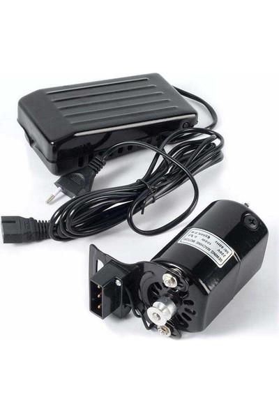 Aile Dikiş Makinası Hız Ayarlı Motor ve Pedalı 150W