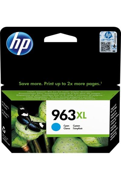 HP 963XL Mavi Mürekkep Kartuşu 3JA27AE