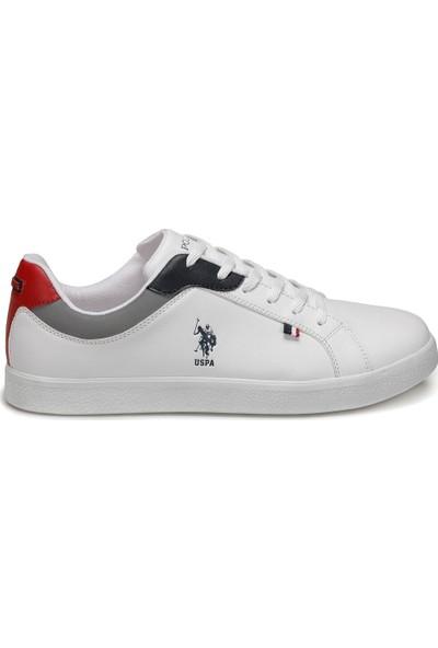 U.S. Polo Assn. Arnold Beyaz Erkek Sneaker Ayakkabı