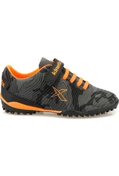 Kinetix Agron J Camo Turf Siyah Erkek Çocuk Halı Saha Ayakkabısı