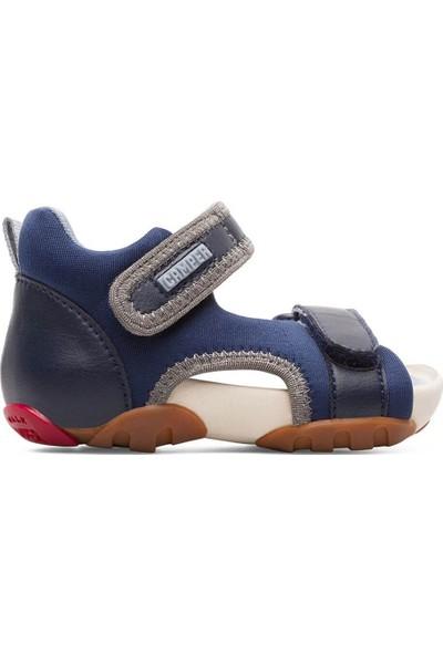 Camper Ous Fw Çocuk Sandalet Koyu Mavi Unisex Çocuk Sandalet