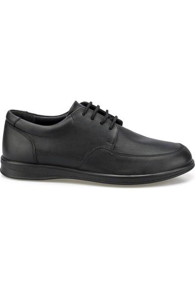 Polaris 160000.M Siyah Erkek Klasik Ayakkabı