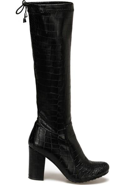Butigo Ronda Siyah Kadın Çizme