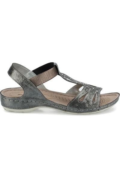 Polaris 161131.Z Antrasit Kadın Sandalet