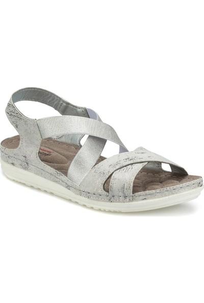 Polaris 161164.Z Beyaz Kadın Sandalet