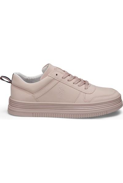 U.S. Polo Assn. Surı Pembe Kadın Sneaker