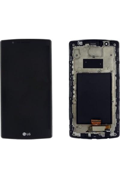 Ekranbaroni LG G4 LCD + Dokunmatik Çıtalı Çerçeveli Full Ekran
