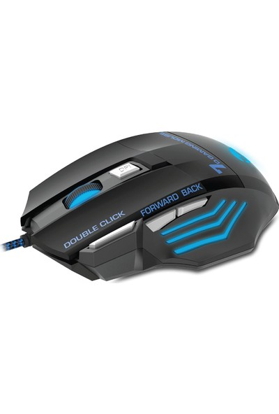 Everest SM-770 CHOPPER Usb Siyah Oyun Gaming Oyuncu Mouse