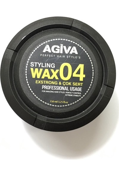 Agiva Extra Strong Wax - No:04 150 ml