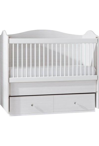 Formini Mobilya Bianco Sallanan Bebek Karyolası