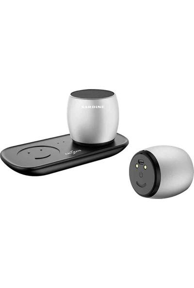 Sardine Kablosuz Şarjlı Bluetooth 2'li Stereo Hoparlör