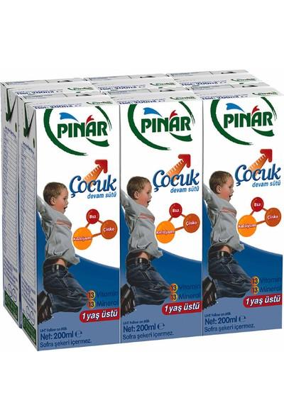 Pınar Çocuk Devam Sütü 6x200 ml