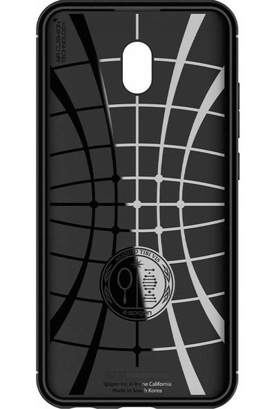 Spigen Xiaomi Redmi 8A Kılıf Rugged Armor Matte Black - ACS00386