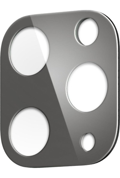 Spigen Apple iPhone 11 Pro Max / iPhone 11 Pro Kamera Lens Cam Ekran Koruyucu Full Cover Space Gray / Uzay Grisi (2 Adet) - AGL00503